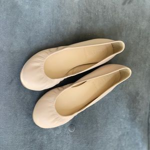 J Crew Leather Ballet Flats Size 6.5